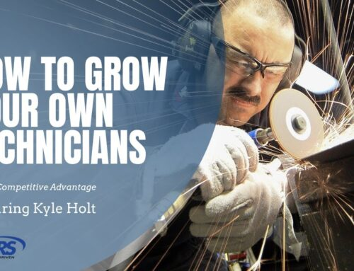 How to Grow Your Own Technicians During a Shortage of Help – Kyle Holt