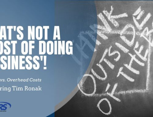 "That's Not a ""Cost of Doing Business"" – Using GAAP to Identify Direct Costs vs Overhead – Tim Ronak"