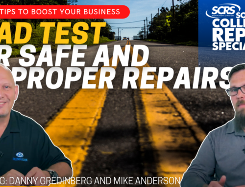 SCRS Quick Tips: Road Testing Vehicles  for Safe and Proper Repair