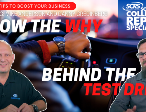 SCRS Quick Tips: Know the WHY Behind the Test Drive