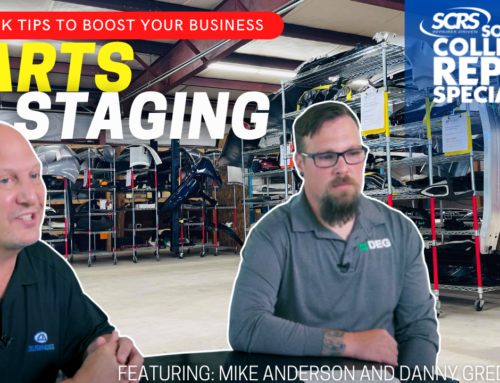 SCRS Quick Tips: Establish Visual Controls with Parts Staging Areas