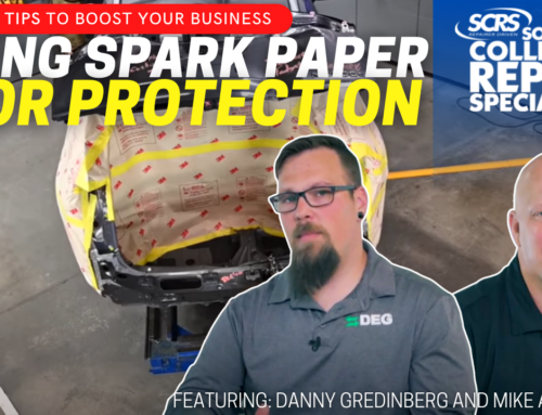 SCRS Quick Tips: Using Spark Paper to Protect the Vehicle