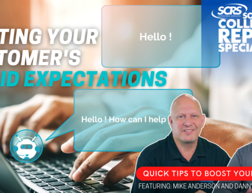 """SCRS Quick Tips: Meeting the Customer's """"Liquid Expectations"""""""