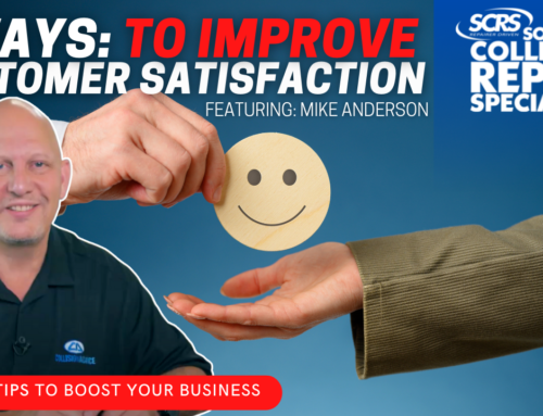 SCRS Quick Tip: 3 Ways to Positively Impact Your Customer Satisfaction Index (CSI)