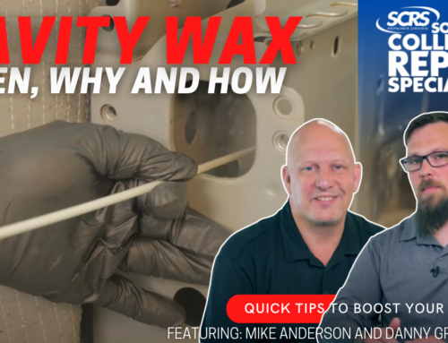 SCRS Quick Tip: Cavity Wax – When, How and Why