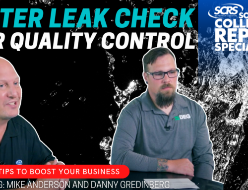 SCRS Quick Tips: Water Leak Test for Quality Control