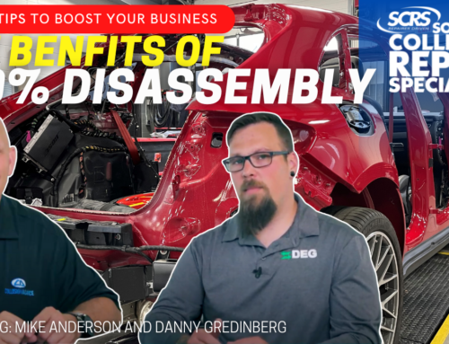SCRS Quick Tip: The benefits of 100% disassembly